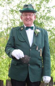 Der neue Schützenkönig Hartmut Engels